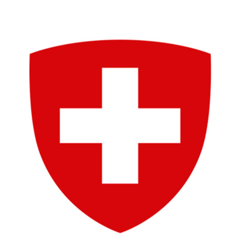 Logo: Swiss government.
